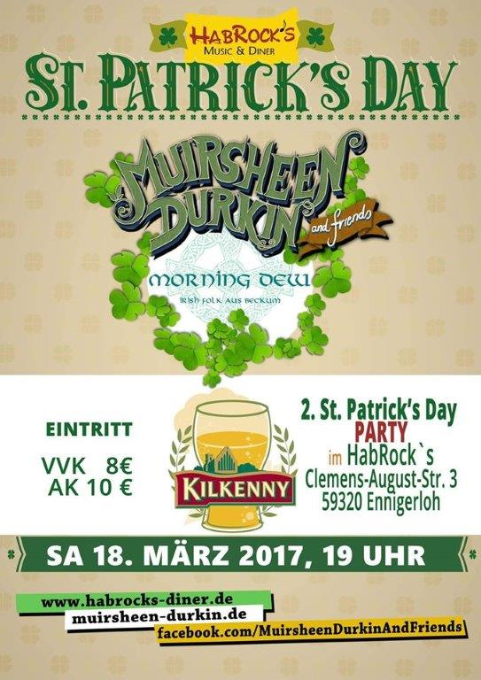 2. Str. Patrick's Day Party