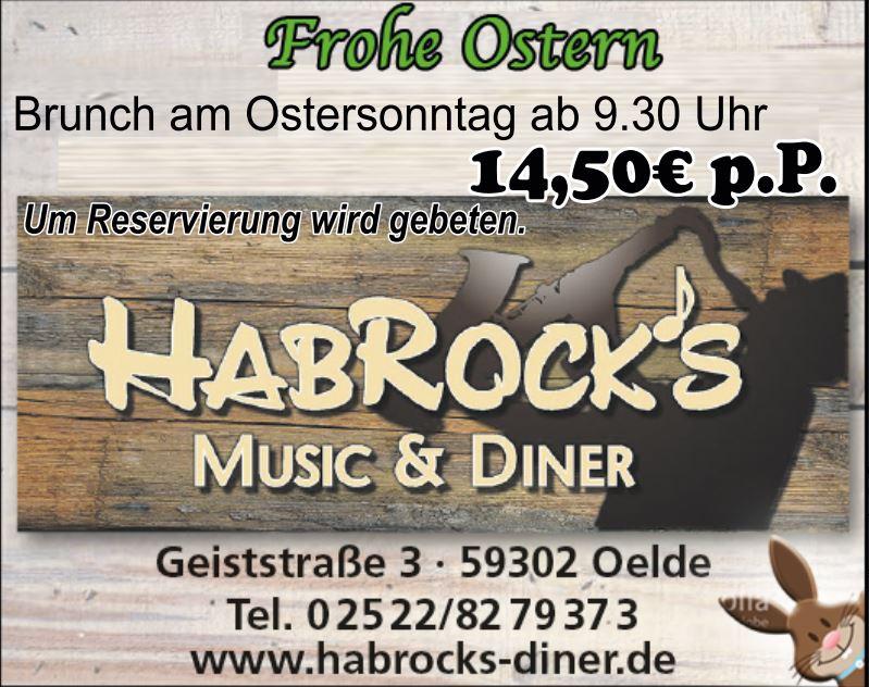 Osterbrunch 2018 im Habrock's Oelde